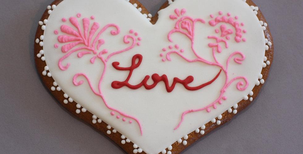 'Love in bloom' heart