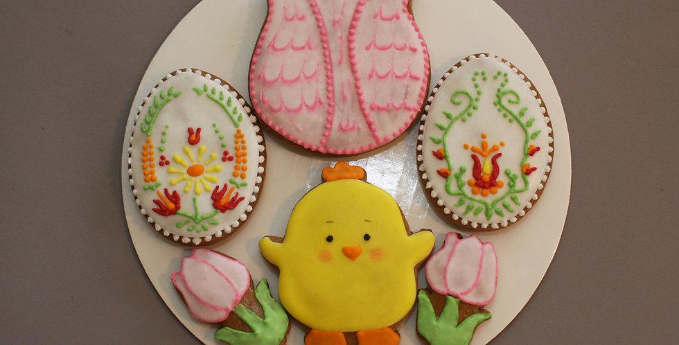 Assorted cookies (tulips)