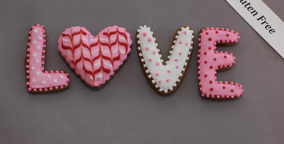 Cookies (LOVE) (gluten free)