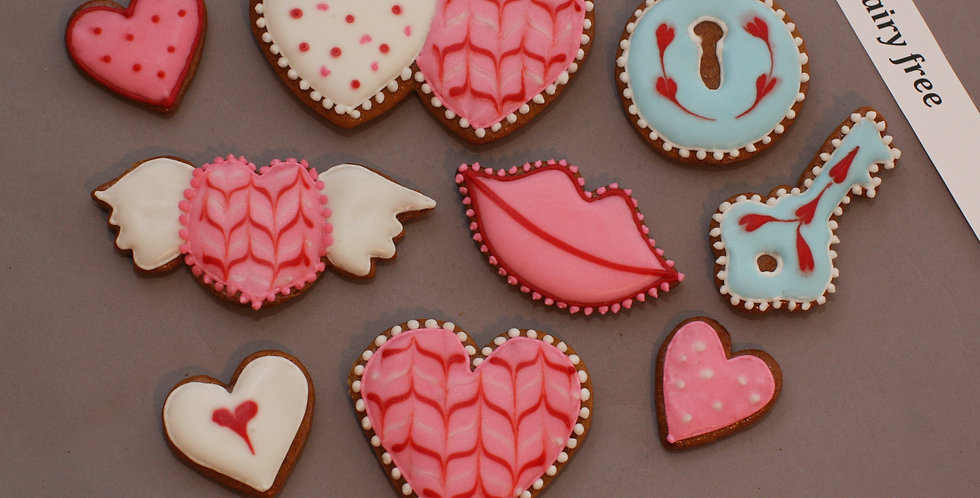 Assorted cookies (dairy free)
