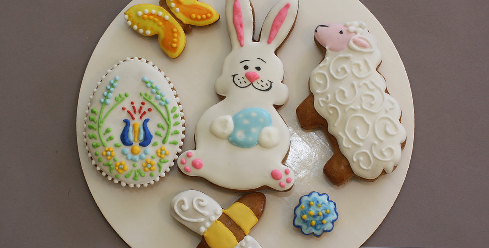 Assorted cookies (bunny - dairy free)