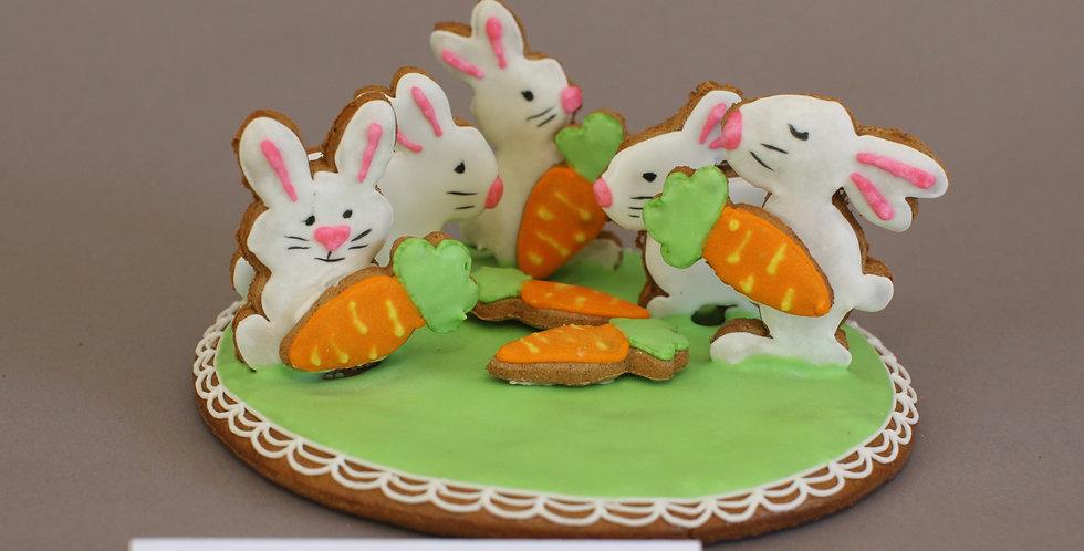 Bunch of bunnies (gluten/dairy free)