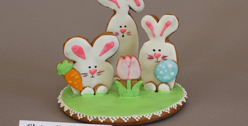 Bunny trio (gluten/dairy free)