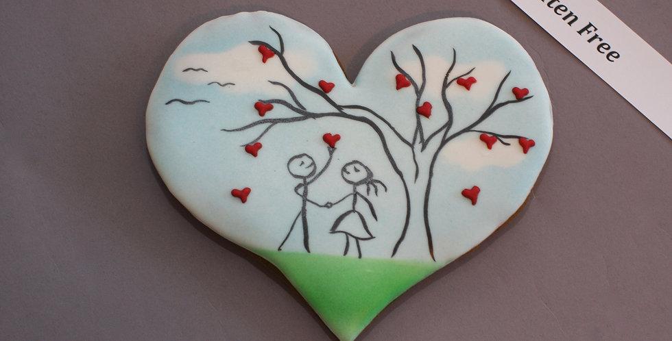 'Love grows on trees' (gluten free)