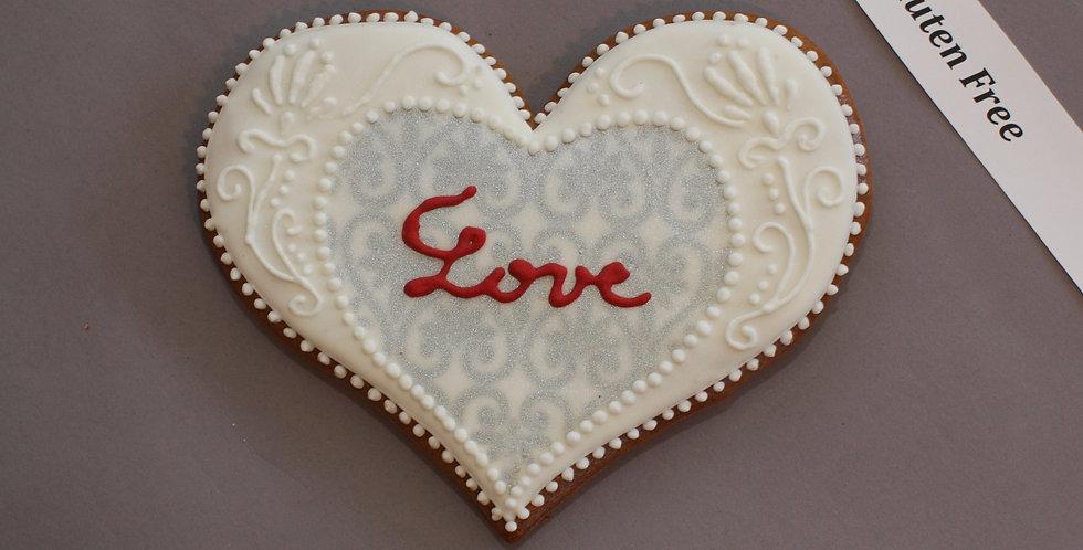 Elegant heart (gluten free)