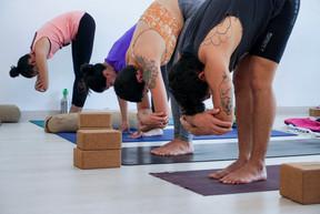 Flexiones hacia adelante - restaurativa - con Jenny & Robert