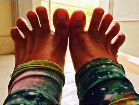 Los dedos de los pies son importantes