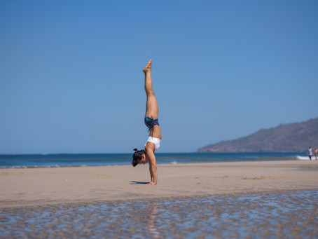 Correcting Handstands most common mistake