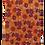Thumbnail: Floral Design Italian Silk Necktie available in Blue, Pink, Orange & Beige