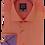 Thumbnail: Men's Orange & Deep Lilac Long Sleeves Ave21 Trendy Shirt