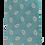 Thumbnail: Modern Paisley Design Italian Neckties in Pastel Lavender, Blue & Pistashio