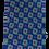 Thumbnail: Royal Blue Mint &  Purple Circle Graphic Print Italian Necktie
