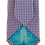 Thumbnail: Lavender & White Squares Design Silk Italian Necktie