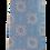 Thumbnail: Sky Blue Crystal Design Silk Italian Necktie