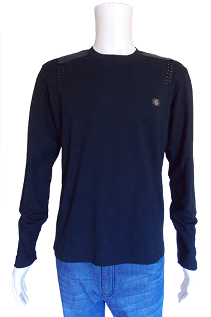 Men's Navy Eureopean Mondo top with Rivets