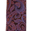 Thumbnail: Brown & Purple Multicolored  Paisley Design silk Italian Necktie