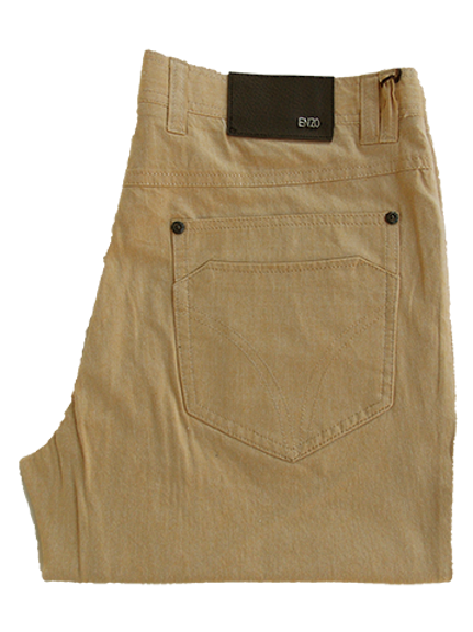 Men's comfortable Enzo Yellowstone 100% Cotton Pants