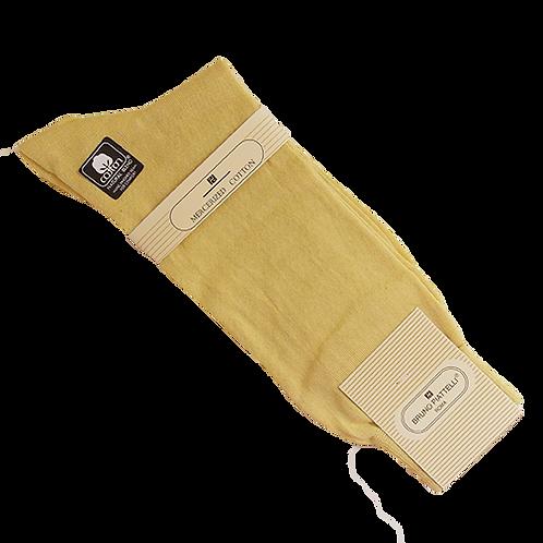 Men's Solid Mellow Yellow Bruno Piatelli Socks