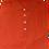 Thumbnail: Orange Italian Montechiaro Button Down Polo Shirt