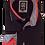 Thumbnail: Men's Black & Red Long Sleeves Ave21 Trendy Shirt
