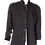 Thumbnail: Men's Black RNT Trendy Jacket With Zippers