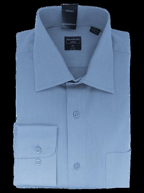 Men's Light Blue Classic Fit Dress Shirt