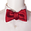 Thumbnail: Red Vivid Silk Self-tie Bowtie