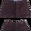 Thumbnail: Men's Enzo Dark Burgundy Denim Pants Modern Fit 100% Cotton