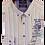 Thumbnail: Men's White Multi Color Stripes Casual Italian Impulso Shirt