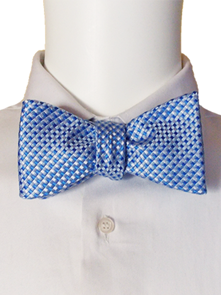 Cornflower Blue Self-tie Silk Bowtie