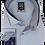 Thumbnail: Men's Sky Blue & Navy Long Sleeves Ave21 Trendy Shirt