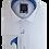 Thumbnail: Men's White Tone on Tone Striped European Ave21 Fashion Shirt