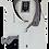 Thumbnail: Men's White & Black Long Sleeves Ave21 Trendy Shirt