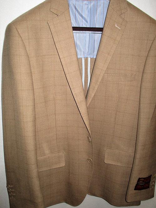 Men's Camel Glen Plaid Wool Mantoni Sport Jacket