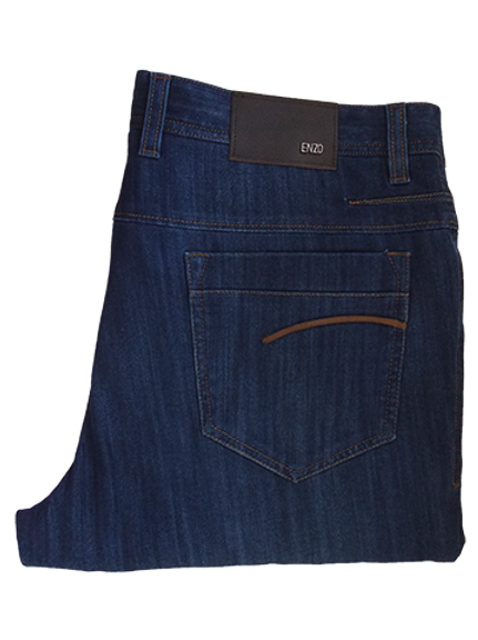 Men's Enzo  Natural Denim Color Summer Jeans