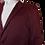 Thumbnail: Men's Wine Satin Dressy RNT Jacket
