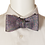 Thumbnail: Purple Blue Green Self-tie Jacquard Silk Bowtie