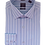 Thumbnail: Men's Blue and White striped Casual Slim Fit Shirt