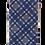 Thumbnail: Blue, Red & Brown Classic Plaid Silk Italian Necktie