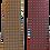 Thumbnail: Modern Paisley Italian Silk Neckties in Red & Yellow