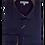 Thumbnail: Men's Navy & Contrast Stitching Long Sleeves Cafe Bleu Sport Shirt