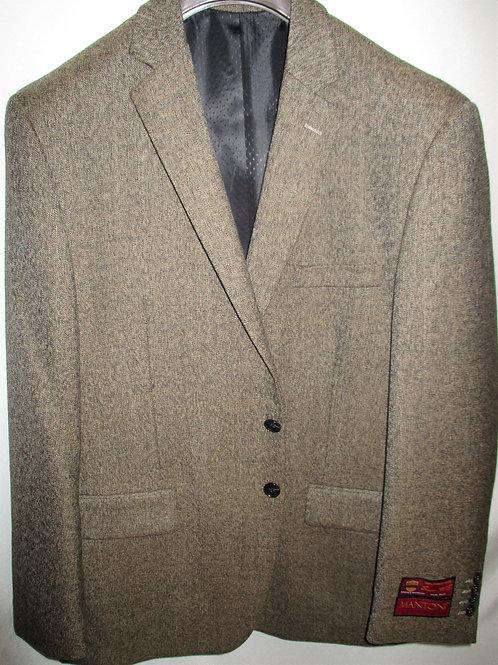 Men's Tan Tweed Wool Mantoni Sport Jacket