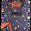 Thumbnail: Men's fun Black with colorful guitars long sleeve shirt
