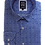 Thumbnail: Men's Electric blue Check Ave21 Superior Cotton Trendy Shirt