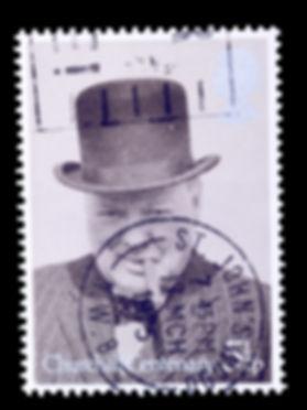 british postage stamp commemorating wins