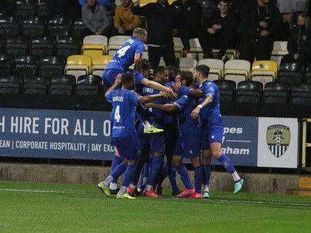 MATCH REPORT   Stones edged out in five goal thriller
