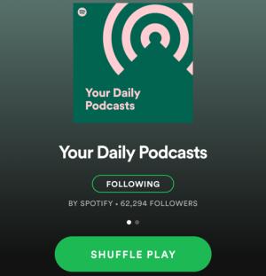 promote podcast on spotify