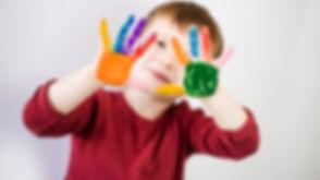 art, preschool, creative, paint, colors, water painting