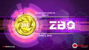 Announcement - W1 Platform™ Listing on ZBG Exchange