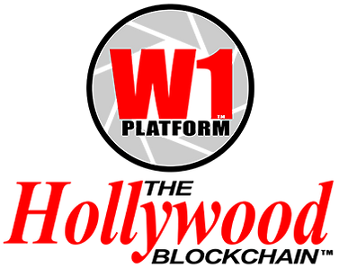 W1 Platform The Hollywood Blockchain log